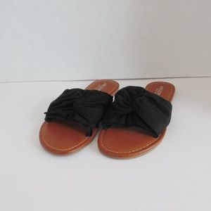 Arizona Gabi Black/Brown Women's Sandals Size 6